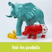 animaux-resine-gravier-decor